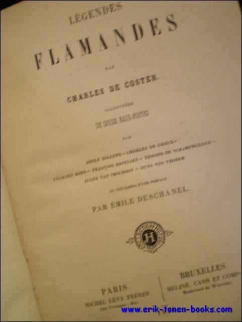 DE COSTER CHARLES / FÉLICIEN ROPS. - Légendes Flamandes. Félicien Rops