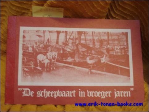 Duwel, Alphonse. - scheepvaart in vroeger jaren (België).
