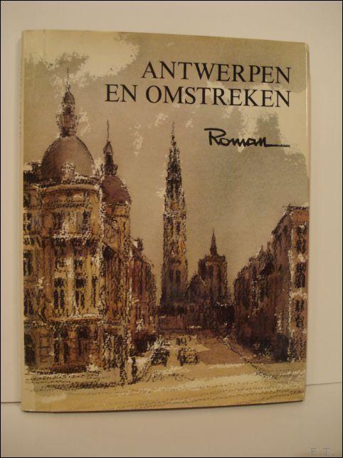 Thomas Roman (ills.) / Willem Persoon (poëzie). - Antwerpen en omstreken, Roman de  Scheldekant.