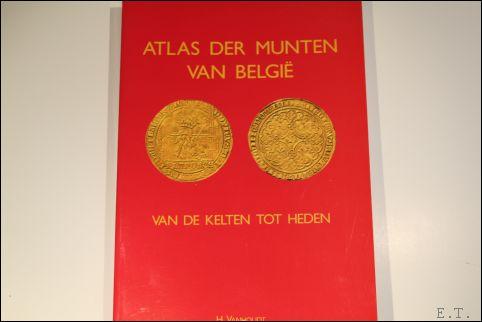 Vanhoudt Hugo - Atlas der munten van België van de Kelten tot Heden